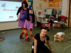 Interaktivní hudební pohádka Winnie the Witch