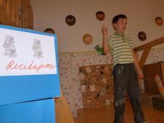 Školní kolo recitační soutěže