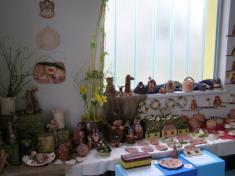 Minivýstavka keramiky