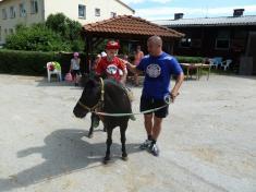 Výlet ke koním