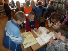 Návštěva knihovny - předškoláci