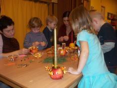 Vánoční dílny s vystoupením dětí
