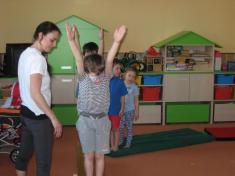 Ukázková hodina gymnastiky