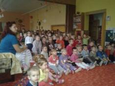 Divadelní představení v MŠ Otice